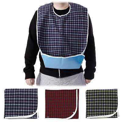 Waterproof Adult Mealtime Bibs Disability Dining Clothing Eating Protector Tool