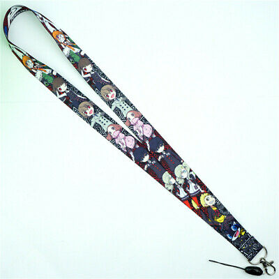 Game Persona P5 Lanyard Neck Strap Charms Cell Phone Rope KeyChain Key ring Gift
