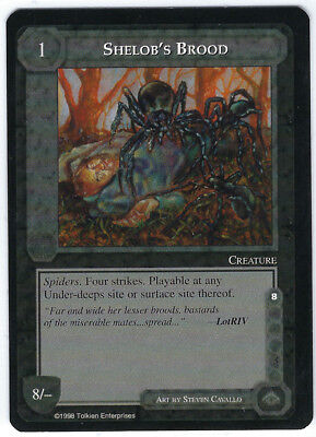 MECCG - The Balrog - Queen Games - Einzelkarte - Shelob's Brood
