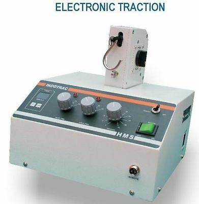 Electronic Traction Unit model  INDOTRAC Machine Therapy Lumbar traction  YUWDE