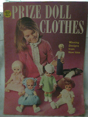 Vintage New Idea Magazine Knitting Doll Clothes Special-Prize Doll Clothes