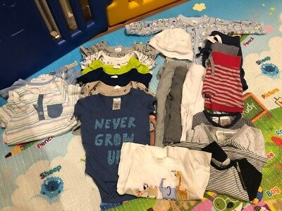 Size 00 Baby Boy Clothing Bundle 22 items
