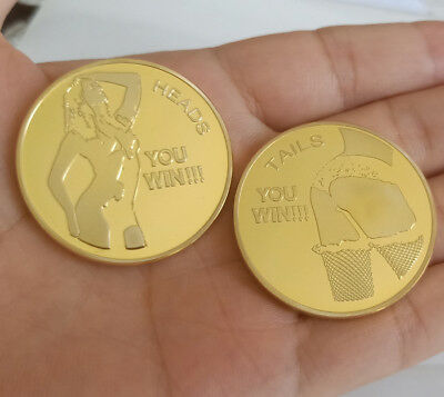 Sexy Beauty You win TAILS Coin You win HEADS Collection Souvenir Coins Man gift