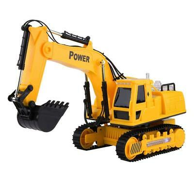 Remote Control Excavator RC Tractor Bulldozer Crawler Truck Digger Car Toy Gift!