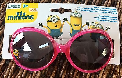 Foldable  100/% UV Protection Despicable Me New Kids Minions  Sunglasses 3