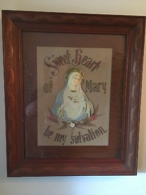 Antique Religous Pictures C 1915 Original Frames