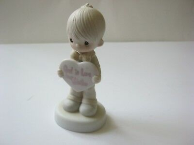 Precious Moments Figurine 1981 God Is Love Dear Valentine