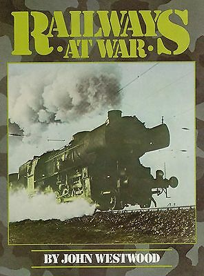 RAILWAYS at WAR: How railroads were used in war (WWI, WWII, more) -- NEW BOOK