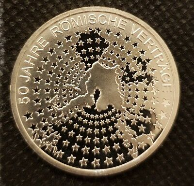 2007 Germany 10 Euro Sterling Silver Coin