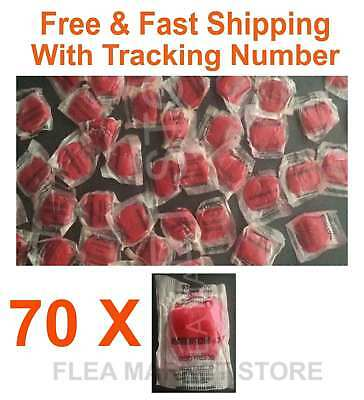 70 x fresh bait kill rats rat Poison killer red pest control free fast Shipping