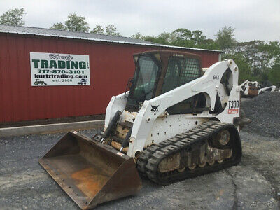 2010 Bobcat T300 Tracked Skid Steer  w/ Cab, Joysticks, High Flow Coming Soon!
