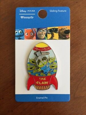 Disney Pixar The Claw Toy Story Pin Little Green Men Loungefly Aliens Boxlunch