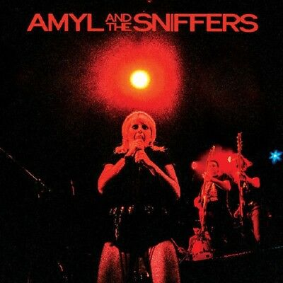 AMYL AND THE SNIFFERS Big Attraction & Giddy Up - LP / Black in Blue Vinyl