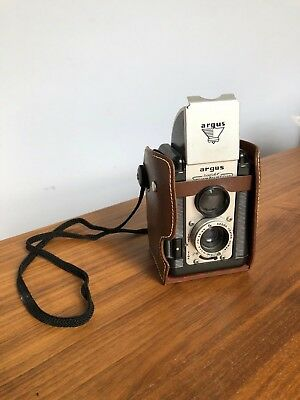 Vintage Argus Super 75 Camera with Case seventy five