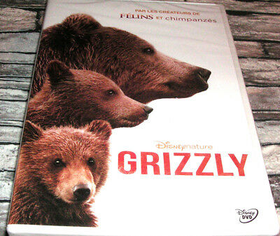 Grizzly  //  Dvd Disney Nature / Neuf
