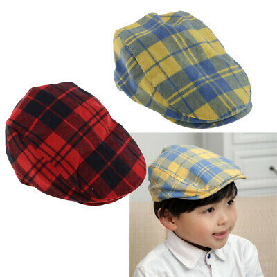 Cotton Toddler Child Baby Infant Boy Girl Beret Sun Cap Baseball Hat New