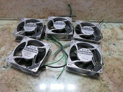 Sanyo Denki San Ace Fan Model 109S072Ul 230V 50/60Hz 18/16W  S08107 Each