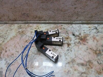 Smc Solenoid Valve Model Vz3140 Wrr Cnc Lot Of 3