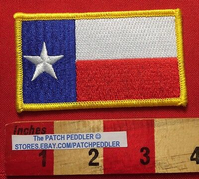 TEXAS State Flag Jacket Patch Lone Star State 61C7