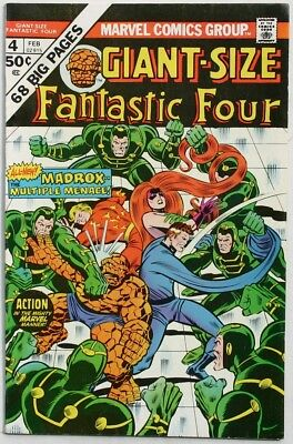 Giant-Size Fantastic Four #4 - 1975 - Vfn