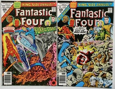 Fantastic Four Annual #12 - #13 - 1977-78 - Vfn