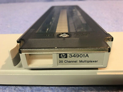 Agilent  HP 34901A 20-Channel Multiplexer Module used in 34970A