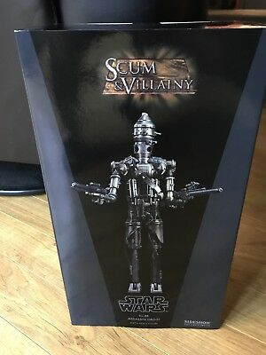 Sideshow Star Wars IG-88 1/6th Scale Figure Version 1 New