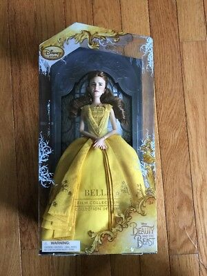 Disney Store Beauty and the Beast Live Action Film Belle Doll NIB
