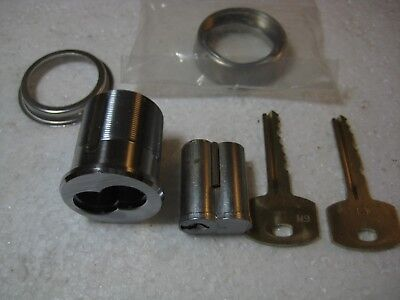 Stanley SFIC Mortise Cylinder and Core Adams-Rite Cam 1 change 1 control Keys