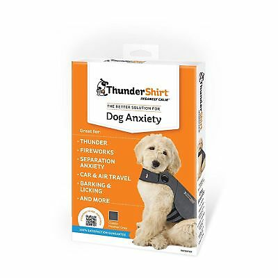 THUNDERSHIRT FOR DOG ANXIETY GRAY SIZE MEDIUM 26-40 lb 1165