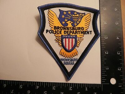Police Patch-- Brownsburg, Indiana