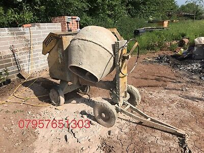 diesel concrete Cement mixer Lister Petter Engine Very Very Reliable