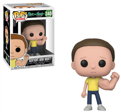 Funko Pop Sentient Arm Morty #340 Rick and Morty Animation Toy Adult Swim TV