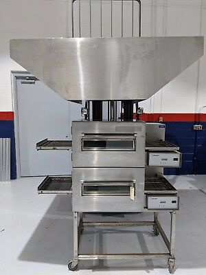 FREE SHIPPING - 2 LINCOLN 1132 Remanufactured OVENS WITH NEW HOOD & NEW FAN