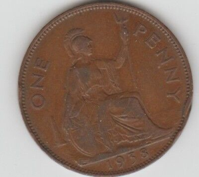 1938 Great Britain English Large Penny