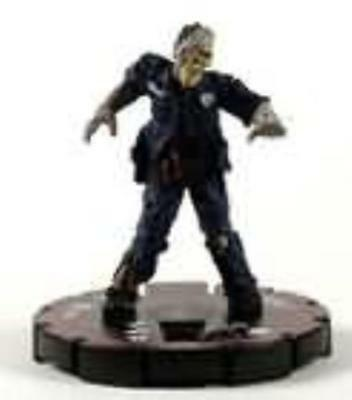 HorrorClix Base Set Zombie Cop #012 - Veteran NM