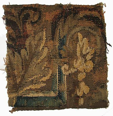 A Good Antique Tapestry Fragment