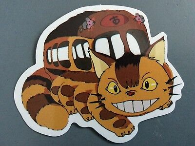 "My Neighbor Totoro Nekobus Collectible Decal Sticker 2.3"" x 3"" ☆ Rare & Cute"