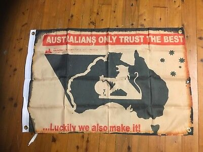 HOLDEN brock GMH Man cave flag ford Moffat shed car banner poster Monaro torana