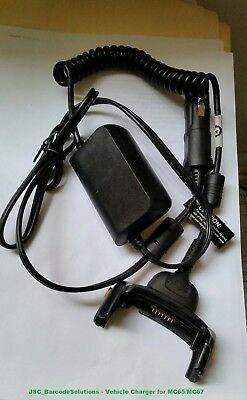 Vehicle Charger for Zebra/Motorola/Symbol MC65/MC659B/MC67NA PartNo: VCA5500-01R