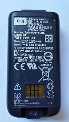 Honeywell/Intermec CK3/CK3a1 Battery Model_No: AB18  Part_No: 318-034-013