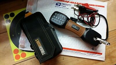 USED SOUTHWIRE B600 PROFESSIONAL Telephone Test Set with Pouch +FREE SHIPPING!