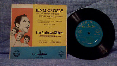 Bing Crosby - The Andrews Sisters - Anniversary Song + 3 Very Rare Spain Release