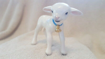 Hagen Renaker Lamb With Bell Specialties Figurine Gift New Free Shipping 04017