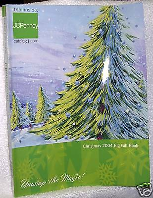 #8621 JCPenney Christmas 2004 Big Gift Book Catalog