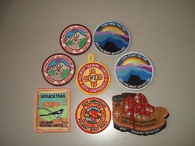 BSA 8 Philmont High Adventure Boy Scout Ranch Various Patches