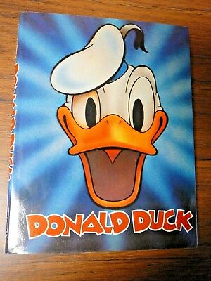 1979 Disney Book: Donald Duck by Marcia Blitz Hardbound Edition