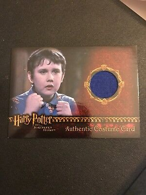 Harry Potter Costume Card Lot Of 2 Ron Neville