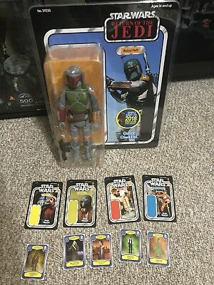 Star Wars Gentle Giant Jumbo Boba Fett SDCC 2018 ROTJ With Promotional Cards