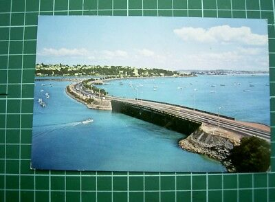 1960's POSTCARD - VIEW of TAMAKI DRIVE / Harbour - AUCKLAND - NEW ZEALAND - Used